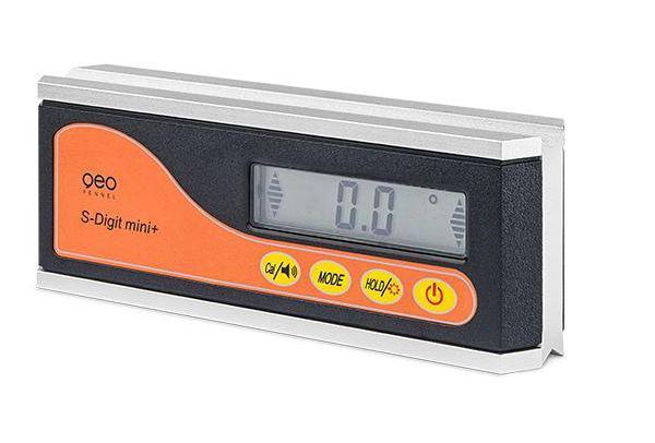 Digitální sklonoměr S-Digit mini s délkou 164 mm