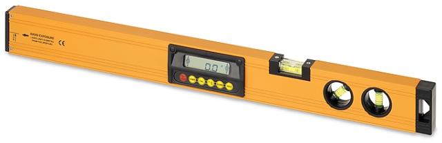 Laserový digitální sklonoměr S-Digit 60 s délkou ramene 60 cm