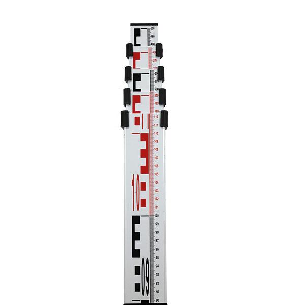 Nivelační lať TN 15-MM s délkou 5 m a pouzdrem