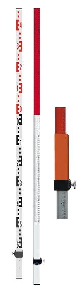 Laserová lať TN 20-kombi s délkou 2.4 m, fotografie 1/4