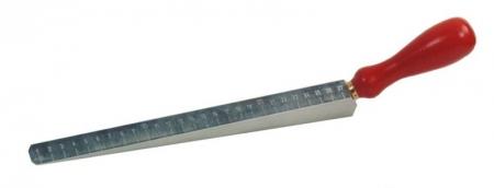 Měřící klínek pro měření nerovností v rozmezí 0 - 27 mm