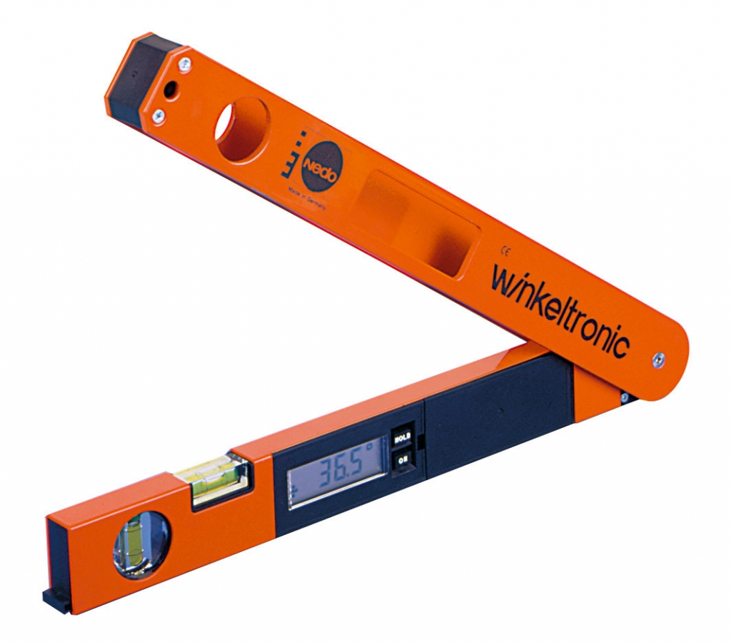 Profi digitální úhloměr Winkeltronic s délkou ramene 45 cm