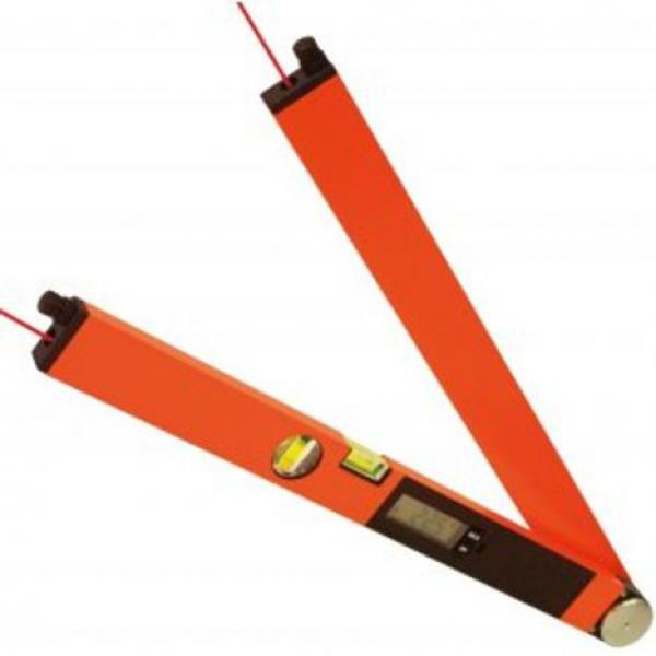 Profi digitální úhloměr Laser Winkeltronic 2 s délkou ramene 60 cm a 2x laserovým modulem, fotografie 7/4