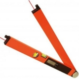 Laser WinkelTronic 2 profi digitální úhloměr s délkou ramene 60 cm a 2x laserovým modulem, fotografie 7/4