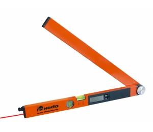 Laser WinkelTronic 1 profi digitální úhloměr s délkou ramene 60 cm a 1x laserovým modulem