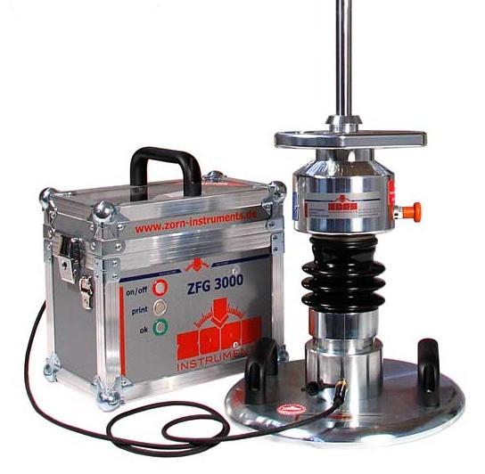 Zátěžová deska ZORN ZFG 3000 GPS - 10 kg + 15 kg