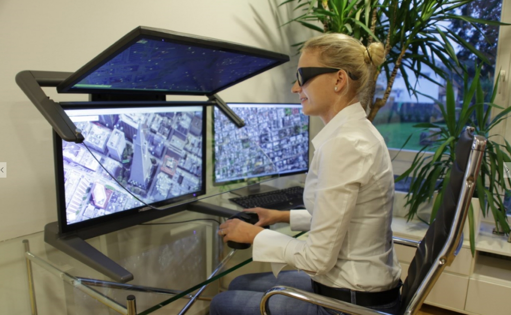 "Stereo-Monitor 3D PluraView WQHD 27"", fotografie 7/4"