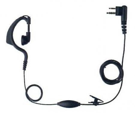 Sluchátko a mikrofon k vysílačce F6