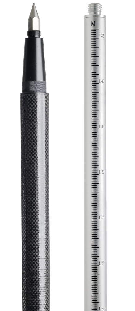 GPS tyč G 25 teleskopická 136 - 248 cm, fotografie 1/3