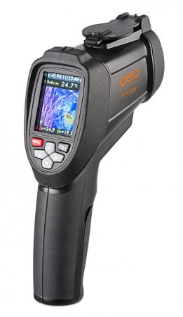 FTI 300 je termokamera s automatickým vyhledáváním horkých a studených bodů