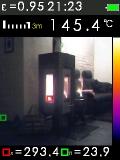 FTI 300 je termokamera s automatickým vyhledáváním horkých a studených bodů, fotografie 1/11