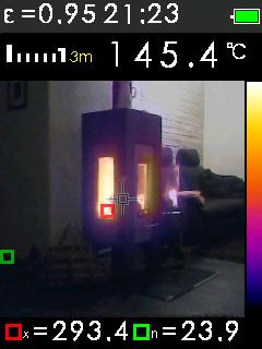 Termokamera FTI 300 s automatickým vyhledáváním horkých a studených bodů, fotografie 5/11