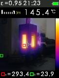 FTI 300 je termokamera s automatickým vyhledáváním horkých a studených bodů, fotografie 7/11