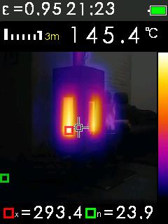 Termokamera FTI 300 s automatickým vyhledáváním horkých a studených bodů, fotografie 9/11
