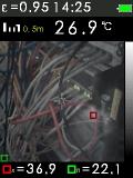 FTI 300 je termokamera s automatickým vyhledáváním horkých a studených bodů, fotografie 11/11