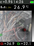 FTI 300 je termokamera s automatickým vyhledáváním horkých a studených bodů, fotografie 13/11