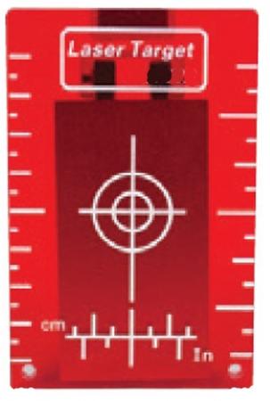 cílový terč krátký k potrubnímu laseru GeoFennel FKL 55