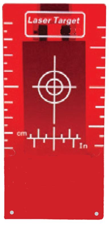 cílový terč dlouhý k potrubnímu laseru GeoFennel FKL 55
