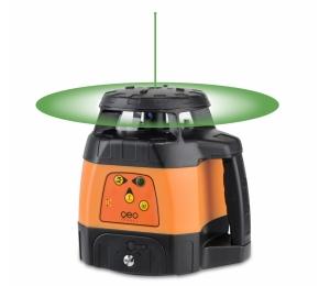 Zelený rotační laser FLG 245HV-Green TRACKING pro vodorovnou i svislou rovinu a sklon v osách X a Y