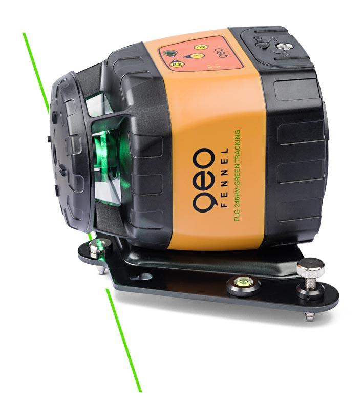 Zelený rotační laser FLG 245HV-Green TRACKING pro vodorovnou i svislou rovinu a sklon v osách X a Y, fotografie 5/3
