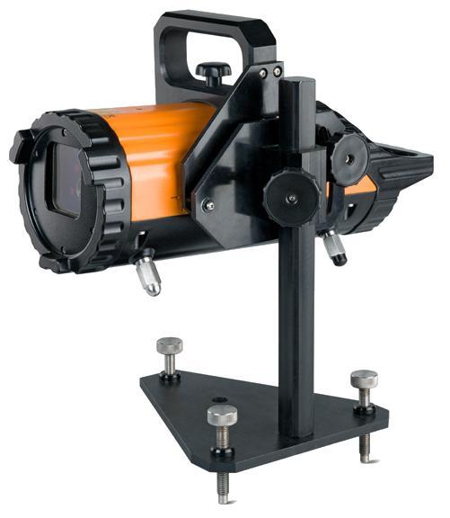 univerzální držák pro potrubní laser FKL 55s výškovým nastavením