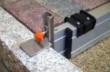 Nivelo NL8 nastavitelná stahovací lať s pracovní délkou 0.5 - 0.8 m, fotografie 7/6