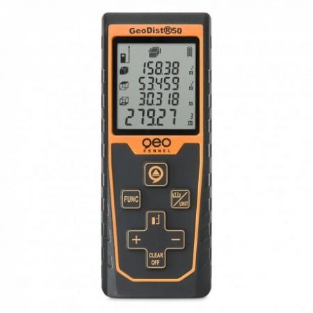 GeoDist50 s dosahem 50 m a přesností +/- 2 mm