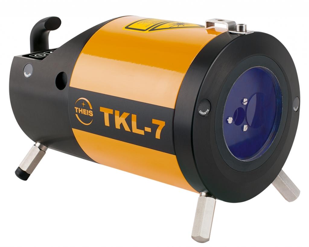 Theis TKL-7 s krátkým tělem a zeleným paprskem