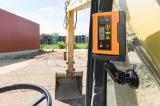Bezdrátový vnitřní zobrazovač FRD 807 pro řízení zemních strojů, fotografie 3/2