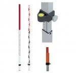 Latě nivelační a laserové