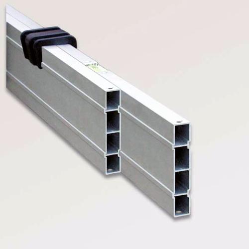 Nivelo NL24 nastavitelná stahovací lať s pracovní délkou 1.4 - 2.4 m, fotografie 1/6