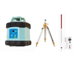 Sada Q1K2 = rotační laser + klikový stativ a lať