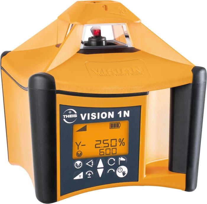 VISION 1N + přijímač FR45 + dálkové ovládání FB-V pro vodorovnou rovinu a digitální sklon v ose X