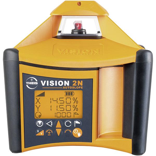 VISION 2N + přijímač FR45 + dálkové ovládání FB-V pro vodorovnou a svislou rovinu s digitálním sklonem osy X a Y
