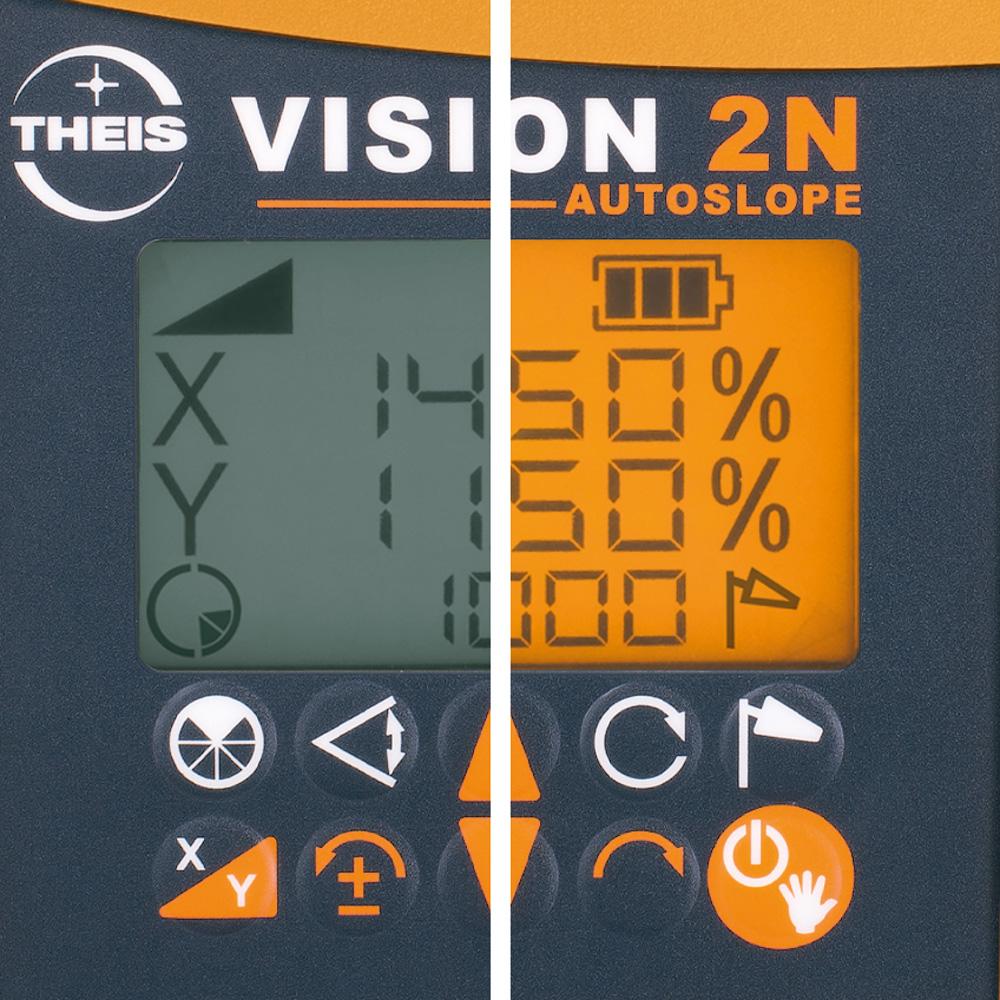 VISION 2N ALIGN + přijímač TE90 pro obě roviny s digitálním sklonem osy X i Y a funkcí zacílení na cíl ALIGN, fotografie 13/8