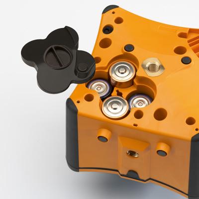 VISION 2N AUTOSLOPE + přijímač FR77-MM + dálkové ovládání FB-V pro vodorovnou rovinu s automatickým dorovnáváním nastaveného sklonu osy X a Y, fotografie 1/5