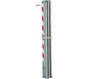 LK413 lať hliníková kontrolní 4 m / 1.33 m