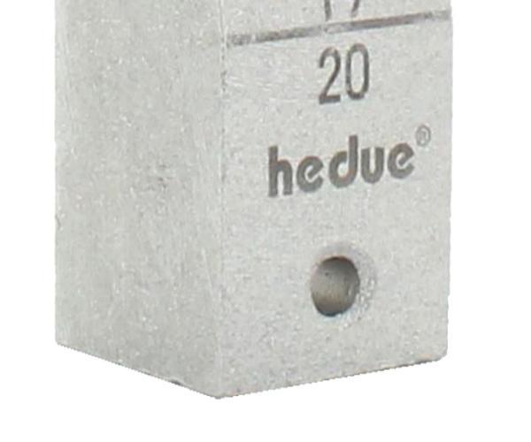 Měřící klínek MK20 pro měření nerovností v rozmezí 1 - 20 mm, fotografie 1/2