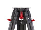 Nestle N707 karbonový stativ s kulovou odnímatelnou hlavou a šrouby s rozsahem 93 - 169 cm, fotografie 5/5