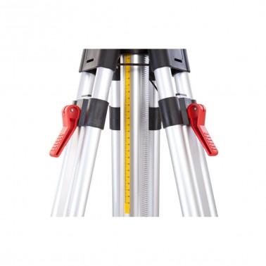 Nestle N321 střední klikový stativ s rychlosvěrami a rozsahem 90 - 194 cm, fotografie 5/3