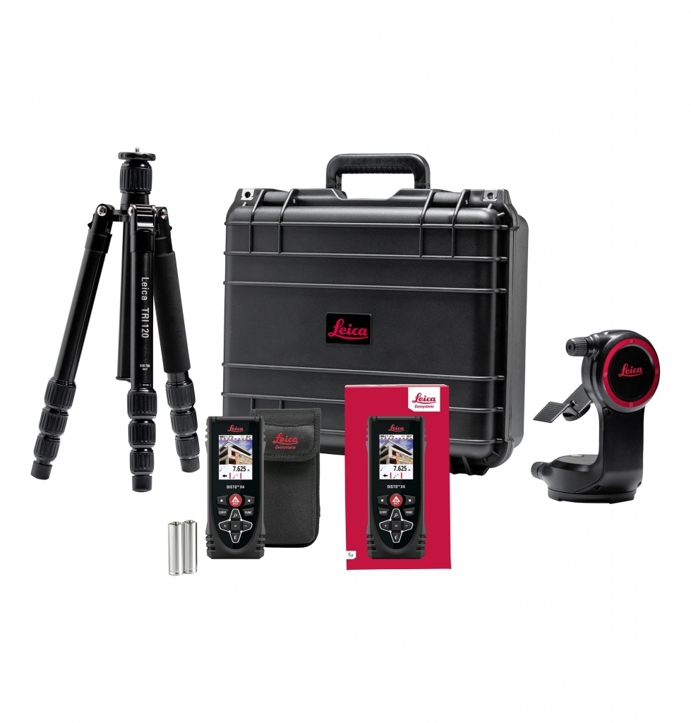 Set Leica Disto X4 s adaptérem DST360
