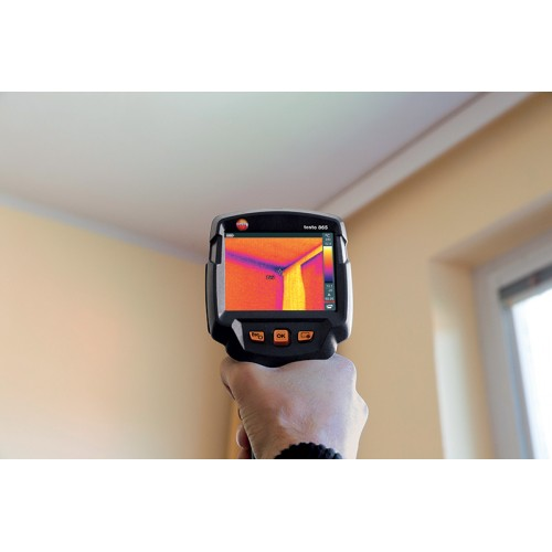 Termokamera Testo 865 s automatickou detekcí teplých a studených míst, fotografie 1/4