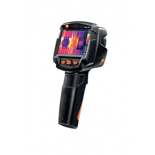 Termokamera Testo 871 kombinuje vysoké IR rozlišení s profesionálním výkonem