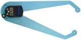 Kombinovaný digitální tloušťkoměr a úhloměr S301 s délkou ramene 42,5 cm, fotografie 7/4