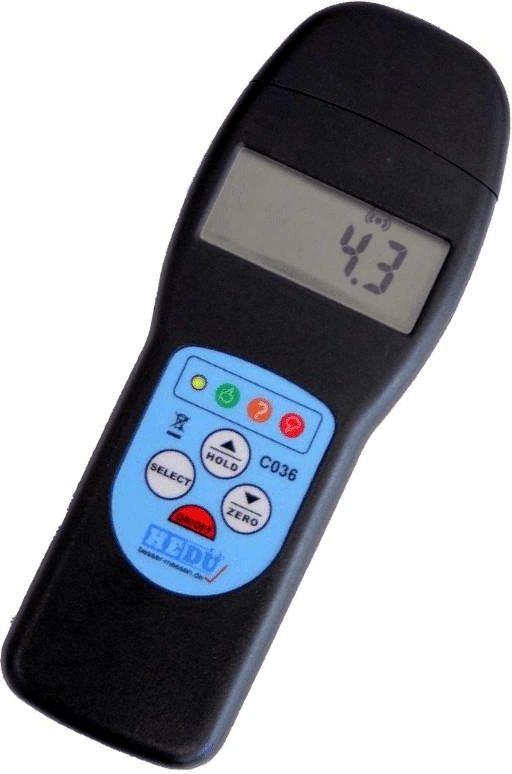 Digitální kontaktní vlhkoměr C036 s měřením pomocí indukce nebo hrotů