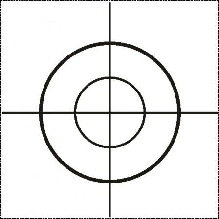 Odrazný štítek 4 x 4 cm