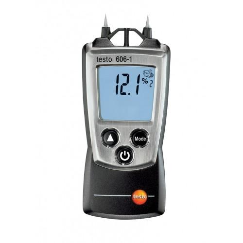 Vlhkoměr Testo 606-1 pro měření vlhkosti a teploty stavebních materiálů