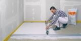 Nivelo BASIS set pro podlaháře sestávající z 1 nastavitelné latě a 2 stahovacích kolejnic, fotografie 17/9