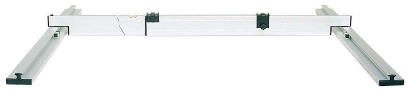 Nivelo PROFI set pro podlaháře sestávající z 1 nastavitelné latě a 4 stahovacích kolejnic, fotografie 9/9