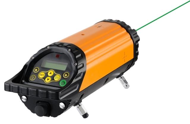 potrubní laser GeoFennel FKL 55 Green s kompletní výbavou